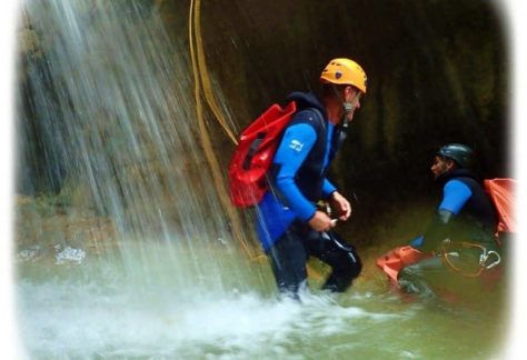 Stage canyoning autour du lac d'Annecy