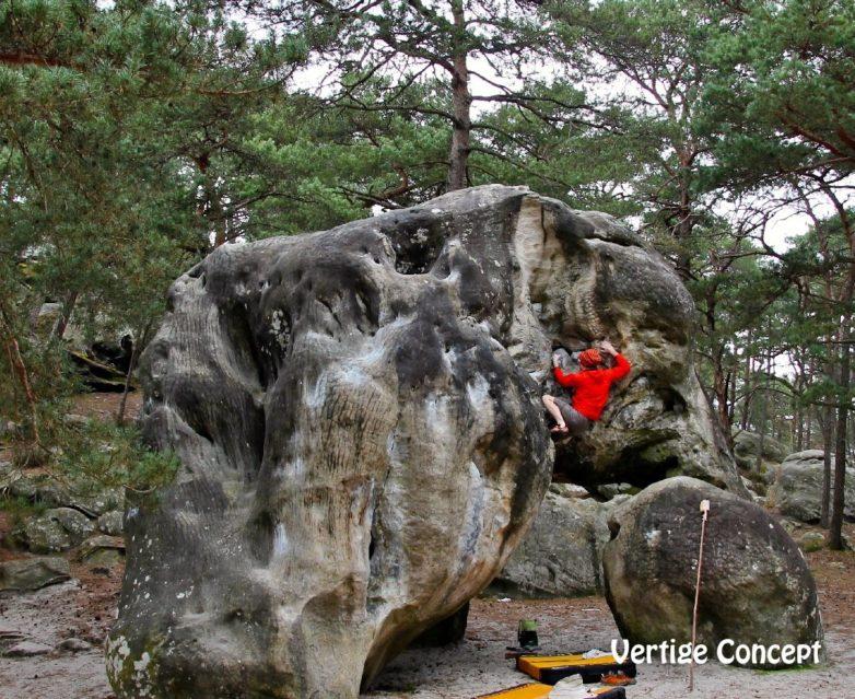 Fontainebleau Stage D Escalade De Blocs Vertige Concept