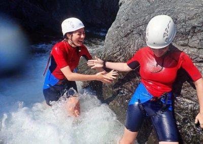 Canyoning initiation du Fango : une randonnée aquatique à Galéria près de Calvi en Corse du nord !