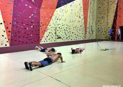 Entrainement et renforcement musculaire en escalade