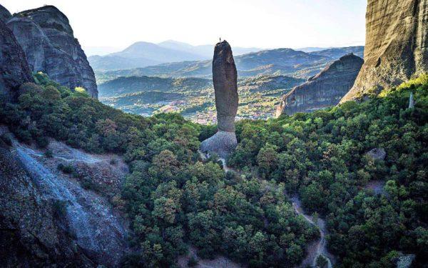 Stage escalade dans les Météores situées au coeur de la Thessalie en Grèce.