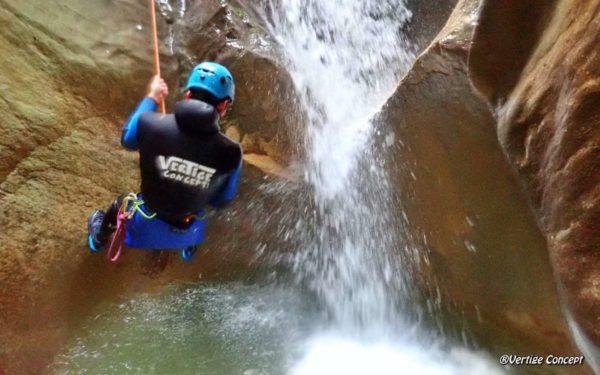 Le canyon des Ecouges avec un guide