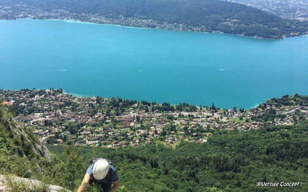 Stage grande voie à Annecy pour apprendre les bases de la sécurité