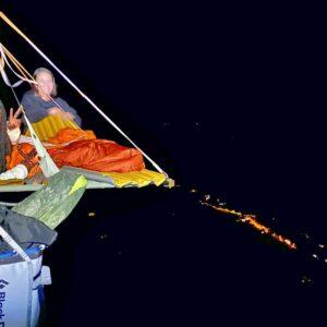 Nuit insolite sur Portaledge dans le Vercors